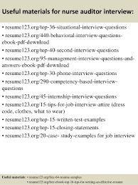 Sample Resume Of A Nurse by Top 8 Nurse Auditor Resume Samples