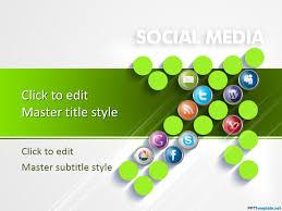 promotion template powerpoint free social media digital marketing