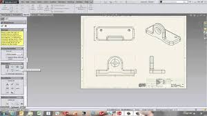 solidworks inserting model dimensions into a drawing youtube
