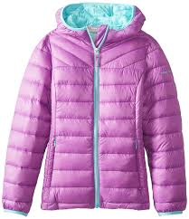 free country little girls down packable jacket clothing