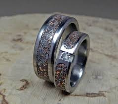 titanium wedding ring sets wedding rings titanium rings wedding band set his and hers