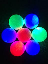 light up golf balls bright glow golf ball led light up night golf ballsglow in the dark