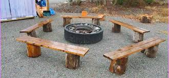 Firepit Bench Wood Working Project Pit Bench Diy Roy Home Design