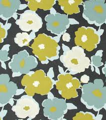 home decor print fabric robert allen top floral charcoal joann