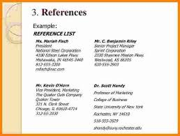 resume exles with references exle of references for resume exles of resumes
