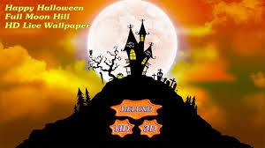 happy halloween full moon hill android apps on google play