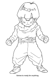 coloring page dragon ball z coloring pages 62