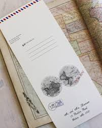 send and seal wedding invitations air mail seal and send wedding invitation