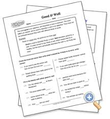 good and well worksheetworks com learning language arts