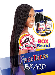 medium box braids with human hair large box braids freetress synthetic hair crochet braid buy 1