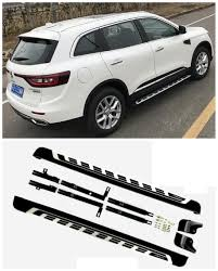 renault koleos 2017 colors for renault koleos 20017 2018 car running boards auto side step