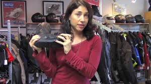 womens tall motorcycle boots pre owned icon women u0027s sacred tall boots youtube