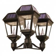 Outdoor Electric Post Lights by Solar Lighting Commercial Grade Solar Lights Treetop Products
