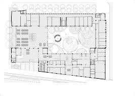 Yale University Art Gallery Floor Plan by Renovation And New Building For Ipabo University Of Applied