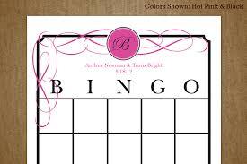 7 best images of wedding shower bingo printable free printable