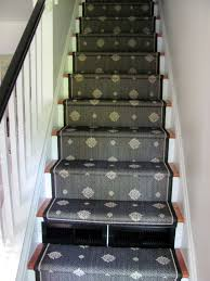 cottage and vine a stair runner tutorial sort of