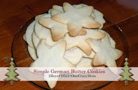 simple german butter cookies recipe 2 boys 1 u003d one crazy mom