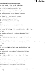 relative clause worksheet worksheets