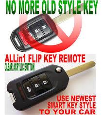 honda accord keyless entry style flip key remote for 13 15 honda accord chip transponder