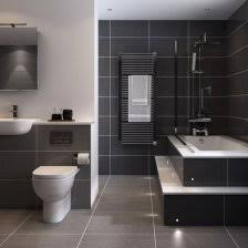 black and gray bathroom ideas bathroom tile idea use large tiles on the floor and walls 18