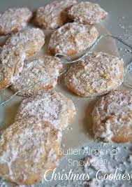 butter almond snowball christmas cookies recipe adventures of mel