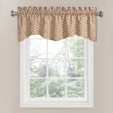 Valances Window Treatments by Shop Waverly Lovely Lattice 16 In Cafe Cotton Rod Pocket Valance