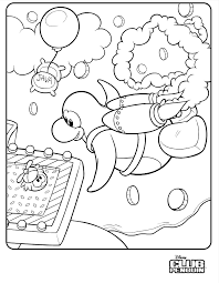 coloring pages of club penguin penguin coloring page the 1st and 2nd graders loved this coloring