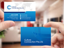 Singapore Business Cards 161 Upmarket Serious Education Business Card Designs For A