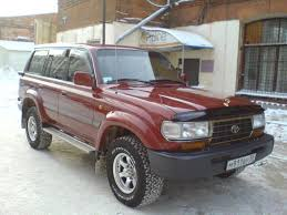 red land cruiser 1996 toyota land cruiser information and photos zombiedrive