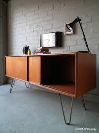 Hairpin Legs Los Angeles by Vintage Retro Teak 60s G Plan Sideboard Industrial Hairpin Legs