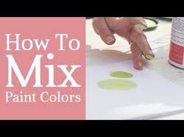 how to mix paint colors color mixing tutorial tints tones