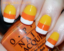 halloween costumes candy corn 24 candy corn nail designs notd sparkly candy corn halloween