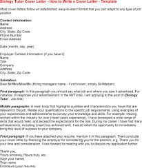 biology cover letter my document blog