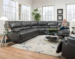 denton leather power reclining sofa denton power reclining sectional frontroom furnishings