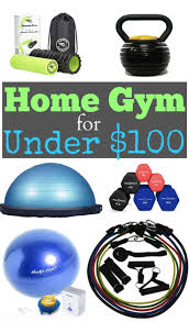 home gym for under 100 workout ideas frugal and gym