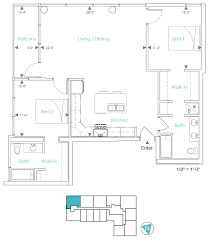 unit a floor plans u2013 ashton detroit