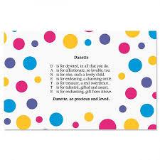 kids placemats dots name poem kids placemats current catalog