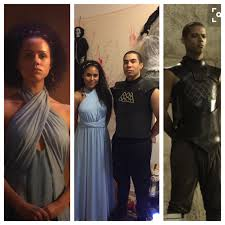 Game Thrones Halloween Costume Game Thrones Missandei Grey Worm Halloween Costume