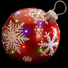 national tree company 18 in pre lit ball ornament decoration bg