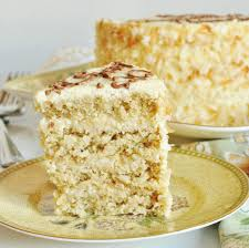 coconut white chocolate layer cake lass apron
