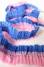 paper crepe streamers sewing crepe paper