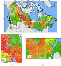 Wildfire Map Of Canada by Forests Free Full Text Mapping Local Effects Of Forest