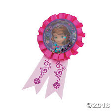 sofia the ribbon the confetti pouch award ribbon