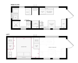 Our Tiny House Floor Plans Construction Pdf Sketchup Small Floor Plans Mini House