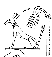 set u0026 horus blessing the pharaoh