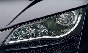 mercedes led headlights 2010 audi r8 led headlights tech dept features car and driver