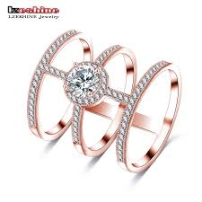 aliexpress buy beagloer new arrival ring gold beagloer design 3 circle connected ring silver color