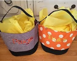 personalized halloween bucket monogrammed halloween bucket