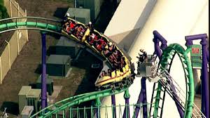 Six Flags Rollercoaster All Passengers Rescued From Stuck Roller Coaster At Six Flags