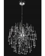 Elegant Crystal Chandelier Elegant Lighting Astro Large Crystal Chandelier With 44 Lights